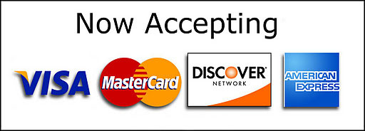 We now accept cards